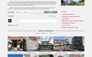 Krijim Website (albaniatravel city)