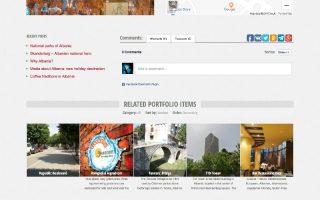 Krijim Website (albaniatravel item)
