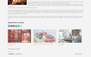 Krijim Website (dizajni item)